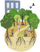 Tiny Forest voor bedrijven: een lunchwandeling in eigen bos