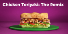 Subway introduceert plantbased 'remix' van populaire Chicken Teriyaki Sub