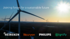 HEINEKEN, Nouryon, Philips and Signify form first Pan-European consortium for future wind farm