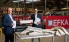 EverUse en EFKA: de eerst in Europa met een volledig circulaire akoestische oplossing voor kantoren