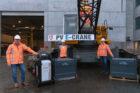 VolkerWessels investeert in eerste volledig elektrische rupshijskraan ter wereld van PVE