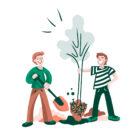 Duurzame planten start-up doneert 100% van de winst aan het goede doel