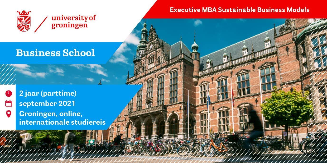 Start Executive MBA Sustainable Business Models