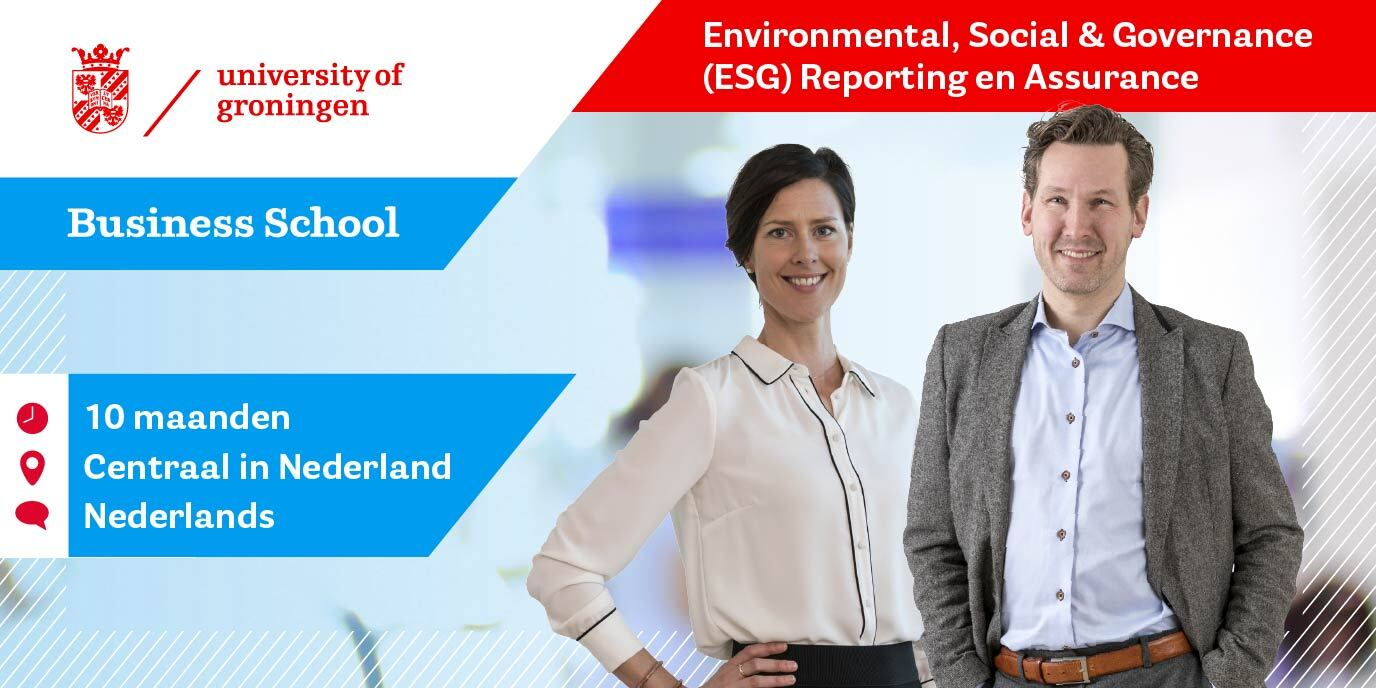 Start Opleiding Environmental, Social & Governance (ESG) Reporting en Assurance
