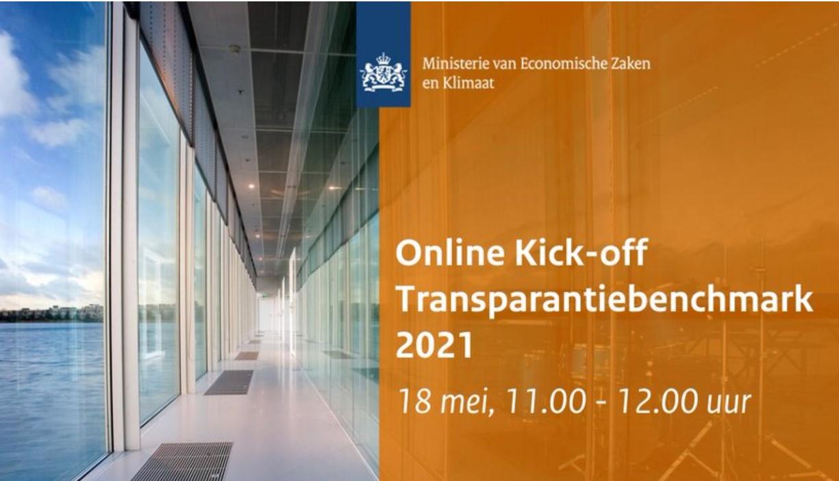 Online Kick-off bijeenkomst Transparantiebenchmark 2021