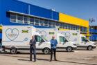IKEA pakketten voortaan elektrisch bezorgd in Amsterdam