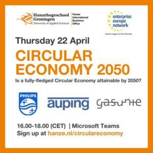 Webinar 'Is a fully-fledged Circular Economyattainable by 2050?'