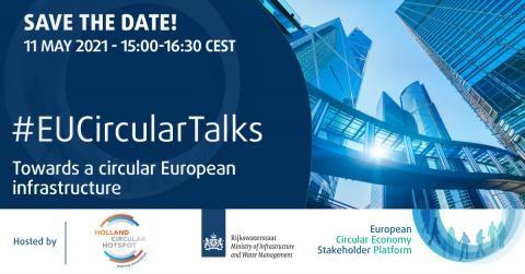 Webinar 'Towards a circular European infrastructure'