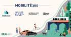 BlaBlaCar, Mobilize, RATP en Uber engageren zich samen voor een duurzame mobiliteit met het project 'Mobilité360'