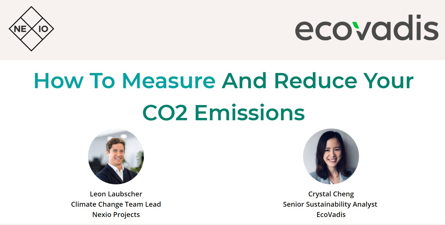 Webinar 'How To Measure And Reduce Your CO2 Emissions'