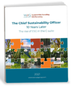 Hiring of Chief Sustainability Officers Surged in 2020; Rise in Women, Little Diversity