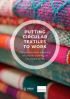 Een volledig circulaire Nederlandse kledingindustrie is mogelijk en biedt grote kansen voor banencreatie