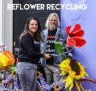Reflower Recycling herbestemt of recylet kunstbloemen