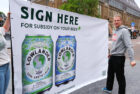 Botanisch brouwer Lowlander vraagt subsidie aan op drinken van bier