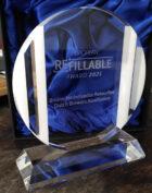Internationale award voor Nederlands bruine herbruikbare bierflesje