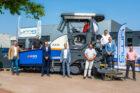 Eerste 100% elektrische asfaltspreidmachine klaar voor productie