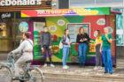 Primeur in Breda: 's werelds eerste eetbare gezonde bushalte