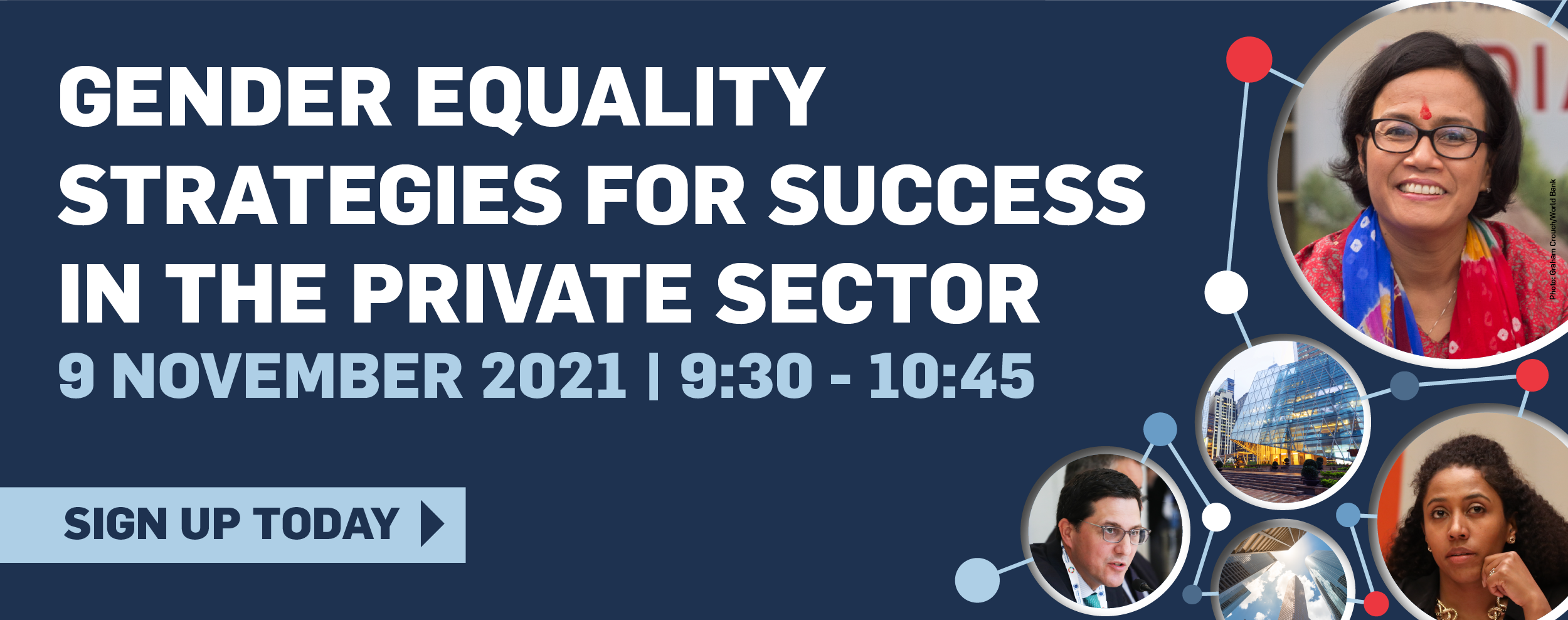 Webinar 'Gender Equality Strategies for Success in the Private Sector'